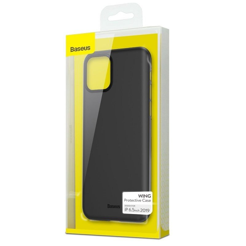 Coque Noire Baseus Wing pour iPhone 11 (WIAPIPH61S-A01 / WIAPIPH61S-02 / WIAPIPH61S-A01)