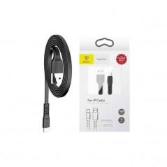 Câble Noir Baseus Tough Series Lightning 2A 1M (CALZY-B01)