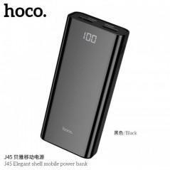 Power Bank Noir Hoco J45 Elegant shell 10 000mAh