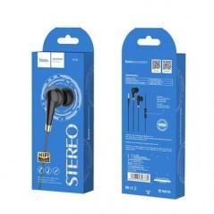Écouteurs Filaire Noirs Hoco M58 Stereo