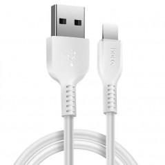 Câble Blanc Hoco X20 USB Type C 3M