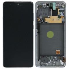 Écran Argent Samsung Note 10 Lite Service Pack