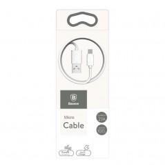 Câble Blanc Baseus Yaven Micro-USB 2.1A 1M (CAMUN-02)