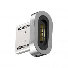 Adaptateur Gris Baseus Zinc Magnetic pour Type-C (CATXC-E)