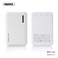 Batterie Externe Remax RPP 123 Blanc 5000 mAh