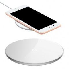 Chargeur induction Blanc Baseus avec câble 1M20 Lightning