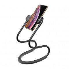 Support de Téléphone / Tablette Noir Baseus Neck (SUJG-ALR01)