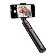 Perche à Selfie et Tré-Pied Télescopique Noire et Rouge Baseus (SUDYZP-D19)