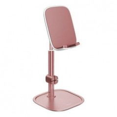 Support de Bureau Rose pour Tablette et Smartphone Baseus Literary Youth (SUWY-0R)