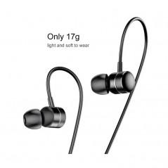 Écouteurs Filaires Noirs Baseus Encok H04 (NGH04-01)