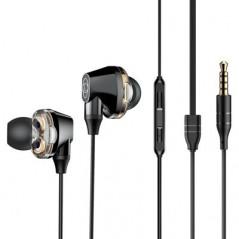 Écouteurs Filaires Noirs Baseus Encok H10 (NGH10-01)