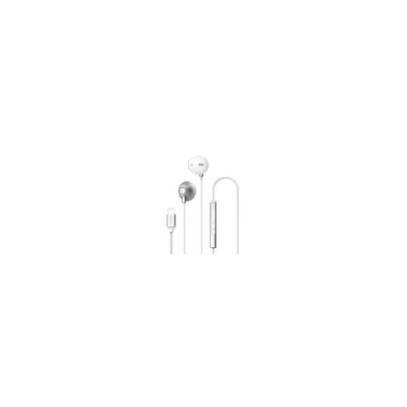 Écouteurs Filaires Argents Baseus P06 Digital Lightning (NGP06-0S)