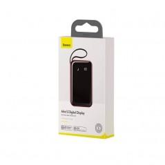 Batterie Externe Rouge Baseus Mini S Digital Display 10000mAh avec Câble Type-C (PPXF-B09)