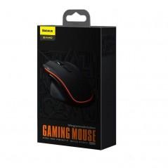 Souris Gaming 9 Boutons Programmables Noire Baseus Gamo (GMGM01-01)