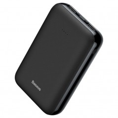 Power Bank Noir Baseus Mini JA Series 10000mAh USB / Type-C / Micro USB 2.1A (PPJAN-A01)