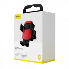 Support Voiture Rouge Baseus Cube Gravity (SUYL-FK09)