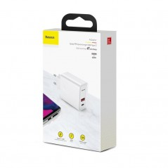 Chargeur Secteur Blanc Baseus Speed PPS Quick Charge USB / Type-C 30W (CCFS-C02)