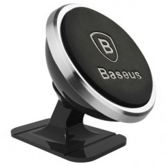 Support Voiture Argent Baseus 360° Rotation (SUGENT-NT0S)