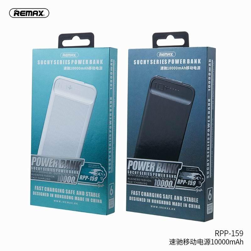 Batterie Externe Remax RPP-159 Noire 10000mAh