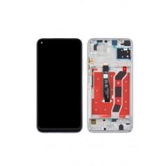 Écran argent Huawei P40 Lite 5G (avec châssis)