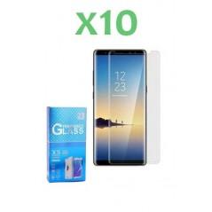 10 Verres Trempés Samsung Note 9