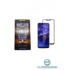 Verre trempé Noir 3D HD surface Huawei Mate 20 lite