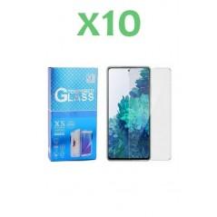 10 Verres trempés Huawei Y7 2018