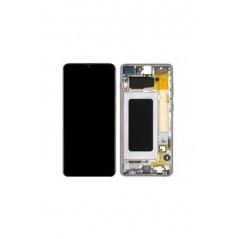 Écran Noir Samsung M31 2020 (Avec châssis) Service pack SM-M315