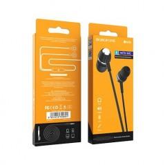 Écouteurs Filaires Universels avec micro Noir Borofone (BM36)