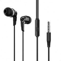 Écouteurs Filaires Universels avec micro Noir Borofone (BM47)