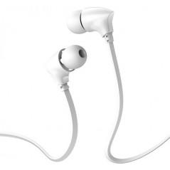 Écouteurs Filaires Universels avec micro Blanc Borofone (BM26)