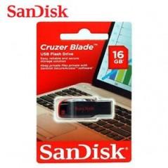 Clé USB Sandisk USB 2.0 16Gb Sandisk Cruzer Blade
