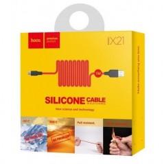 Câble Hoco X21 Micro USB Noir et Rouge 1M