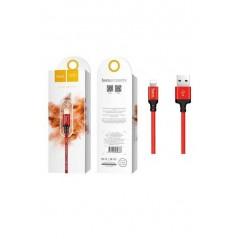 Câble Hoco X14 Lightning 2m Rouge et Noir