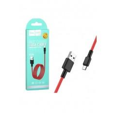 Câble Hoco X29 Carbon Fiber Micro USB 1M Rouge