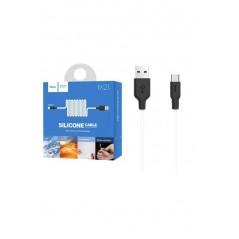 Câble Hoco X21 USB Type C Noir et Blanc 1M