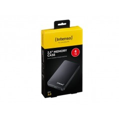 """Disque Dur Externe 2.5"""" Intenso Memory Case 4Tb USB 3.0 Noir"""