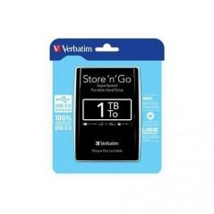 Disque Dur Verbatim HDD USB3 1TB Store'N'Go 5302 Noir