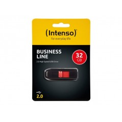 Clé USB Intenso Business Line 32GB Noir / Rouge
