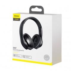 Casque Bluetooth 5.0 sans fil Baseus Encok avec microphone intégré Noir (NGD07-01)