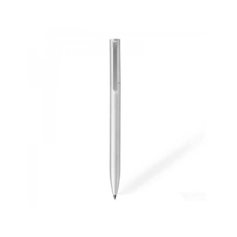 Stylo à bille roulante en aluminium Xiaomi Mi Argent