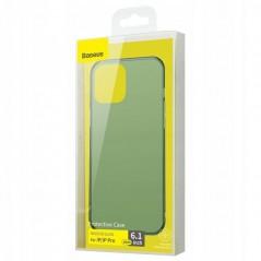 Coque Baseus Frosted Glass iPhone 12 / 12 Pro Vert Foncé (WIAPIPH61P-WS06)