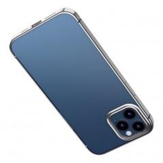 Coque Baseus Shining iPhone 12 Pro Max Transparente et Noire (ARAPIPH67N-MD01)