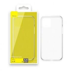 Coque TPU Gel Baseus iPhone 12 mini Transparente (ARAPIPH54N-02)