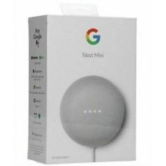 Google Nest Mini Enceinte Assistant Vocal Blanc Craie (2nd Génération)