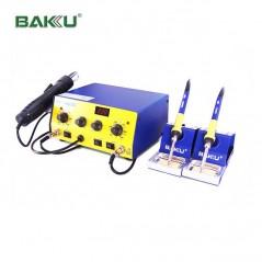 Double Station fer à souder et air chaud Baku BK-603D